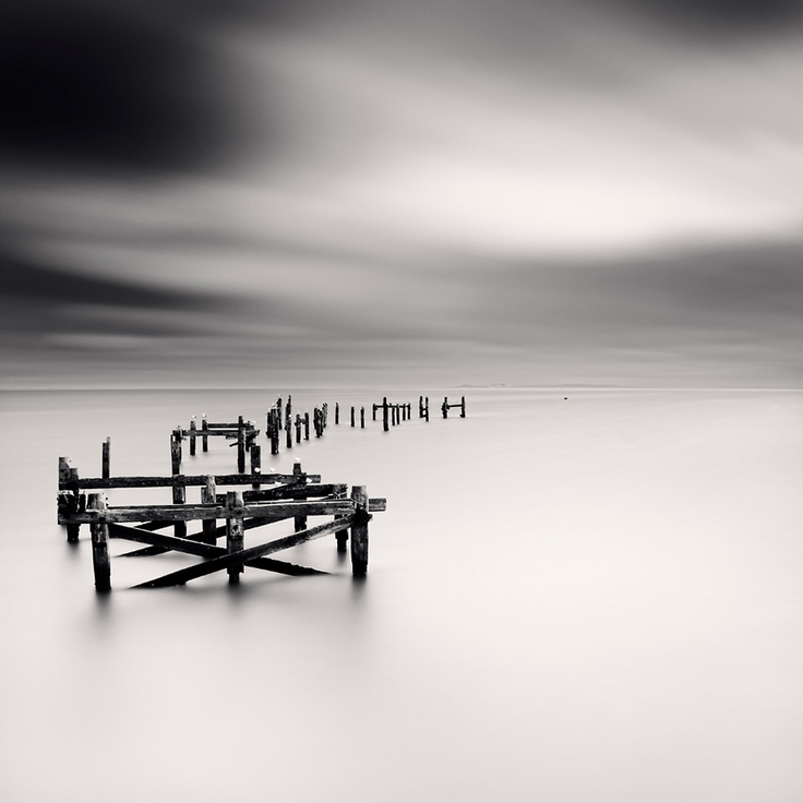 Masculine minimalist black white landscaping swanage old gb 2012 by ronny ritschel via