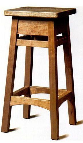 Bar Stool/Saddle Seat Stool - by pjones46 @ LumberJocks.com ~ woodworking community