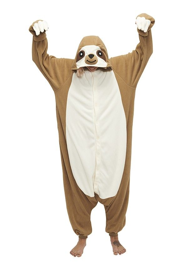 Sloth Kigu | Sloth around in this cute and cosy animal Onesie, perfect for Ice Age lovers!