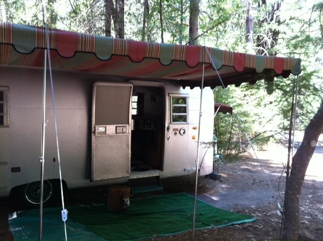 17 Best Images About Vintage Trailer Awnings On Pinterest