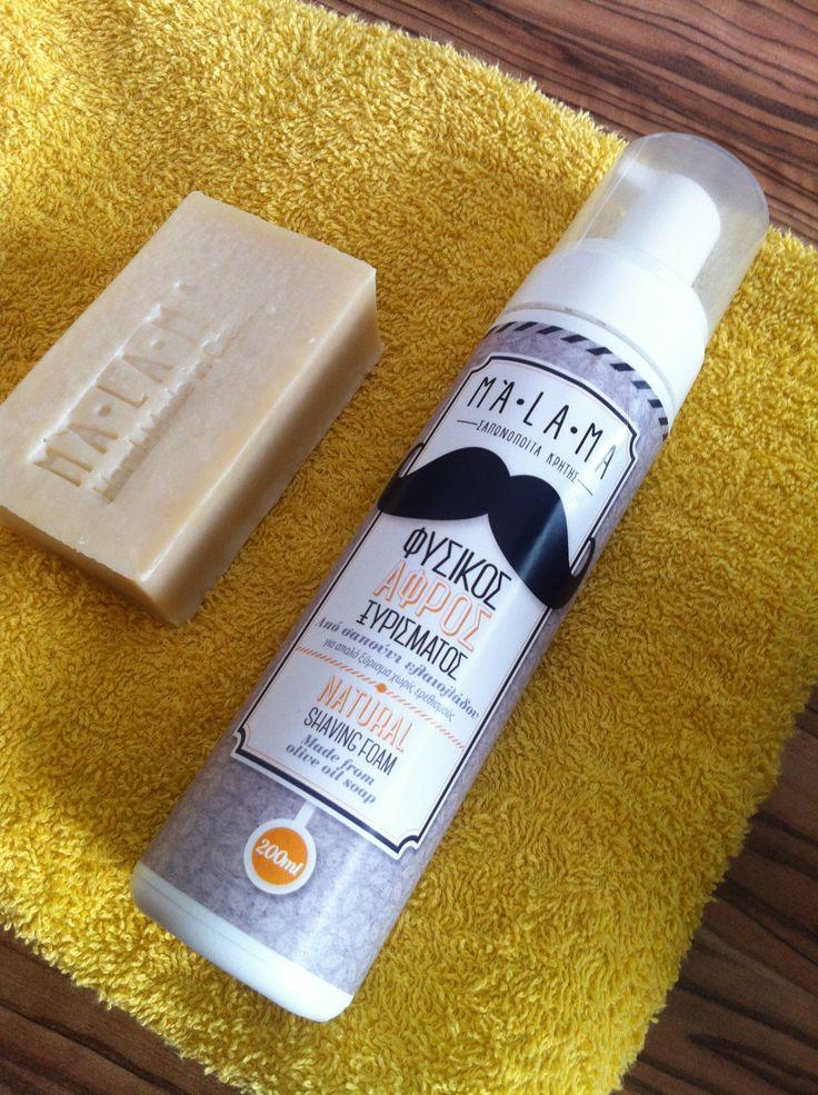 MALAMA#not just another shaving foam#design#mustache#hipster#organic