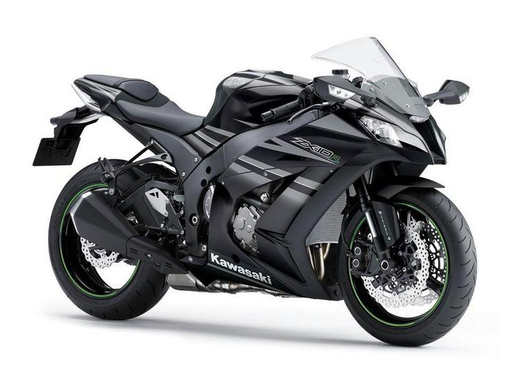 2016 Kawasaki ZX10R Black Colors