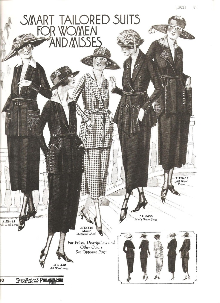1920s fashion catalog