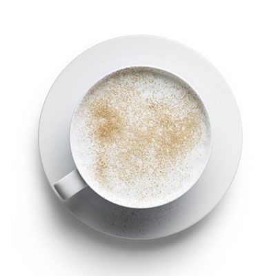 Warm milk and honey is only 73 Calories. Milk, honey, and cinnamon have all been used as cures for insomnia. Just steam 6 oz. skim milk with 1/2 tsp. honey and sprinkled with cinnamon. | Health.com
