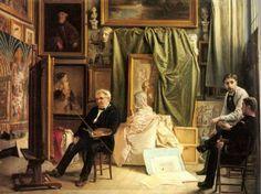 Victor-Louis Mottez 1809 –1897  French fresco painter and portraitist