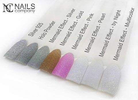 The effect of frost on the nails in offer from Nails Company.