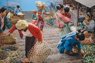 Chusin Setiadikara - Pasar Kintamani