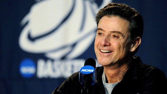 Rick Pitino was once on top of the coaching pedistal in college basketball at Kentucky.  Now he's gotten Louisville to the Final Four and looking to knock off Kentucky.