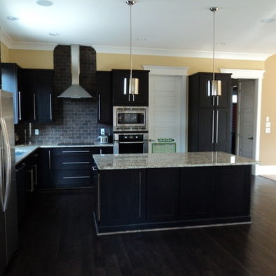 Dark Kitchens With Hardwood Floors