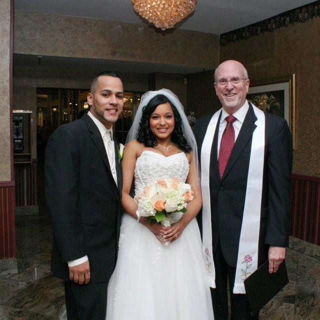 Erika and Roberto, Maestro's, Bronx, NY, 2011 with Rev