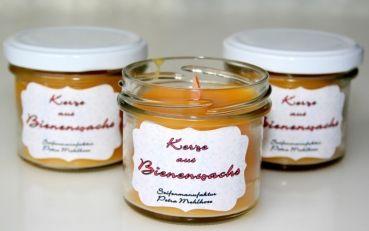 Bienenwachs-Kerze - https://www.seifenmanufaktur-mehlhose.de/de/Raumduefte/Duftkerzen/Bienenwachs-Kerze.html