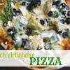 Spinach Artichoke Pizza {Meatless Mondays #9}