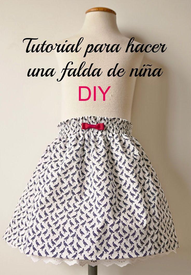 COLOURS FOR BABY: Tutorial y esquema patrón gratis para una falda de...