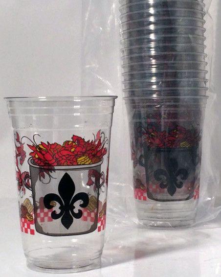 Crawfish Boil Disposable Cups