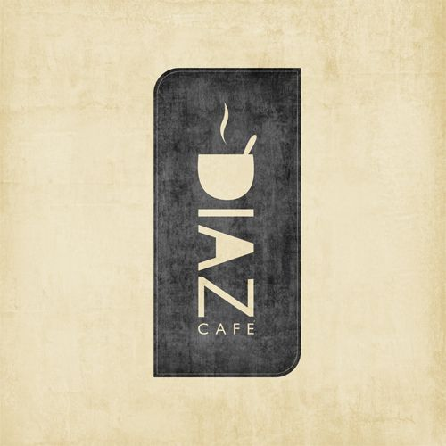 Best Logo Design on the Internet, Diaz Cafe #logo #logodesign #brandidentity #design http://www.pinterest.com/aldenchong/