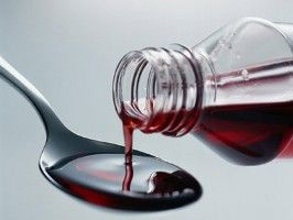 Many cough and cold syrups contain high fructose corn syrup for a sweet taste.