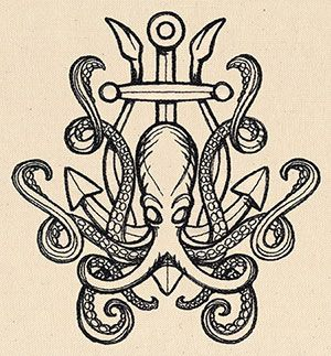 Release the Kraken | Urban Threads: Unique and Awesome Embroidery Designs
