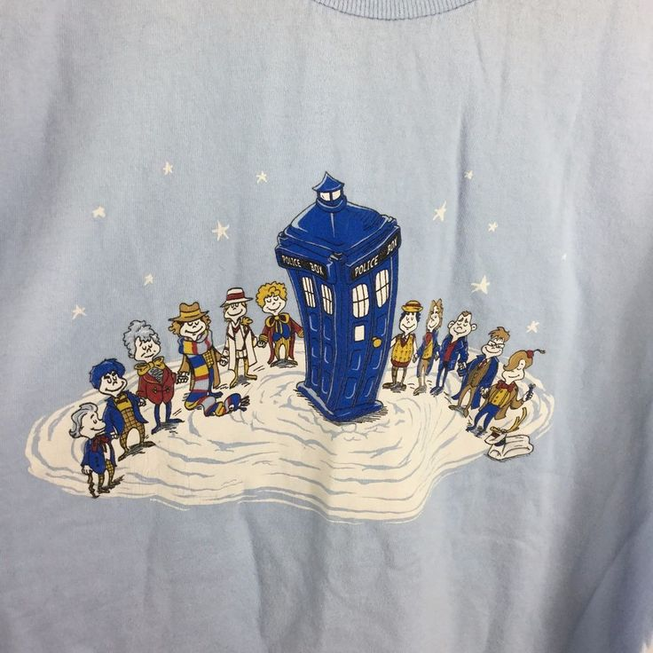 You can see each of the Whos is dressed like a different Dr. and the dog with the reindeer horn tied to his head is now K9 from Dr. Who. Totally awesome shirt! | eBay!
