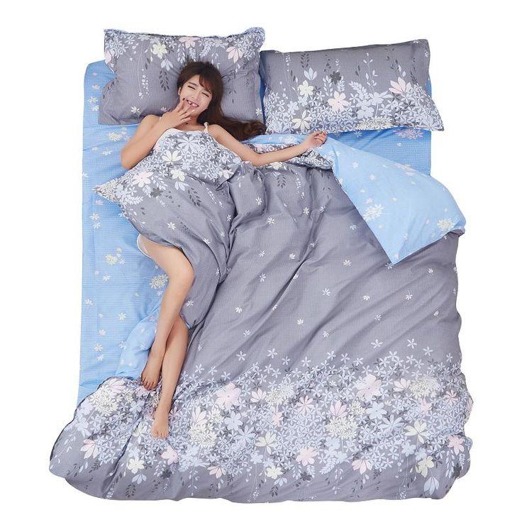 4pcs Bedspreads Bed Linen Sets Floral Bedding Set Bed Sheet Set Duvet Cotton Cover Twin Size Duvet Cover Bed Sheet Set 1.8M bed