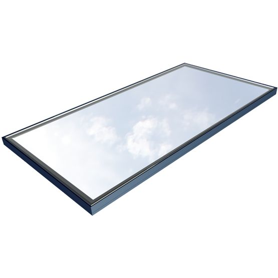 The Flushglaze® rooflight is the embodiment of our minimise framework, maximise daylight ethos: frameless on the inside, clean and contemporary on the outside. There are no bulky capping systems so it won't trap dirt and spoil the view. You can choose Flushglaze® rooflights in virtually any shape you like – rectangular and circular are just our standard options.