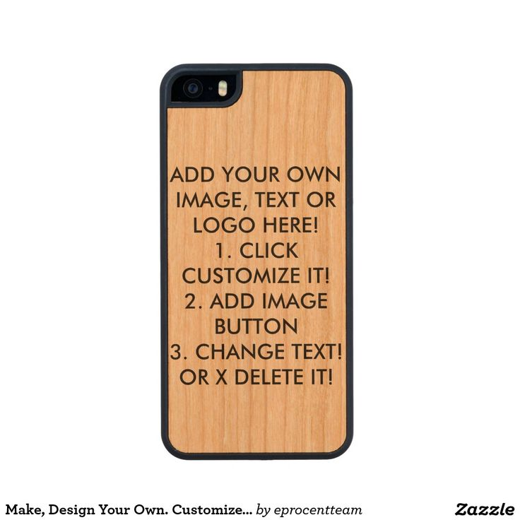 Make, Design Your Own. Customize, Image Text, Logo Carved® Cherry iPhone 5 Case