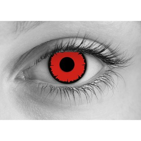 Buy Angelic Red Contact Lenses for Halloween Online. Lowest Prices Guaranteed. Prescription Required For Angelic Red Contacts. Free Shipping On Any Order.