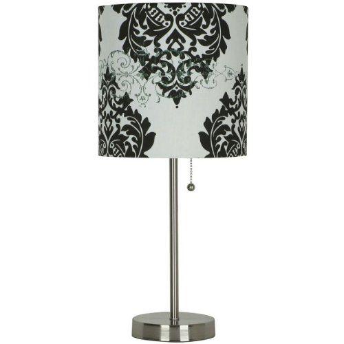 Room Essentials® Stick Lamp - Black and White Damask J. Hunt,http://www.amazon.com/dp/B001QT8AJM/ref=cm_sw_r_pi_dp_aHvwtb0JC65906CM