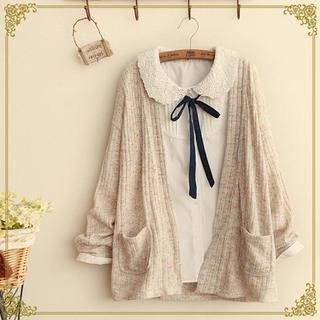 Buy 'Fairyland – Mélange Cardigan' with Free International Shipping at YesStyle.com. Browse and shop for thousands of Asian fashion items from China and more!