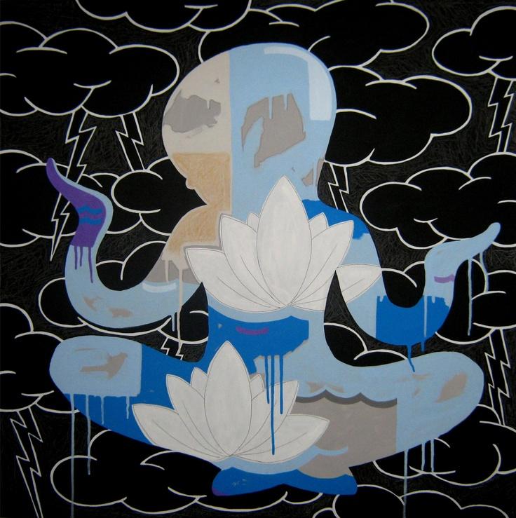 """andrea mattiello """"natura""""    acrilico e grafite; cm 80x80; 2011 #andreamattiello #mattiello #arte #art #contemporaryart #italianartist #artista #artista #emergente #acrilico #tela #tecnicamista #acrylic #canvas #collage"""