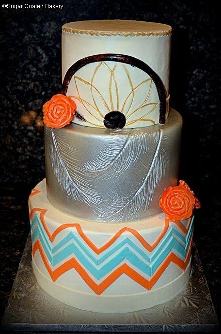 Native American Wedding   Native American Theme Wedding   Cake Inspiration