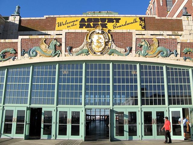 Asbury Park NJ Boardwalk - Paramount Theater / Convention Hall