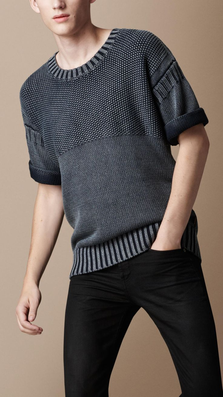 men's knitted jumper