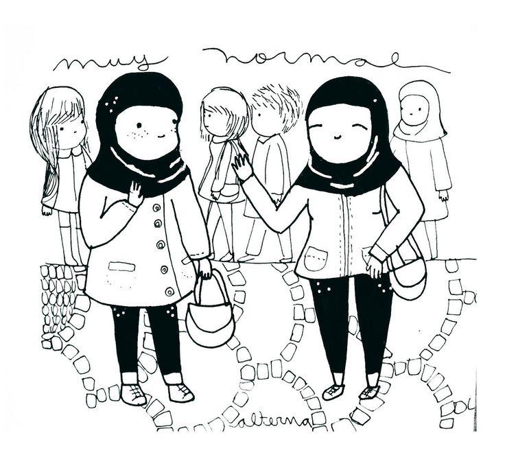 https://flic.kr/p/CzLvVx | Hiyab | Acá es muy normal ver mujeres con hiyab....  a mi me da pena que sean tan hermosas y deban tapar su pelo