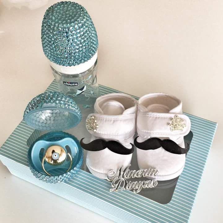 Emzik -biberon -emzik kutusu - bebek ayakkabısı