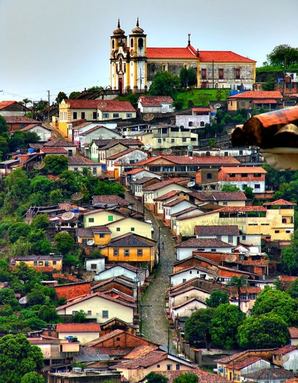 Beautiful city - Ouro Preto - Minas Gerais (Brazil)