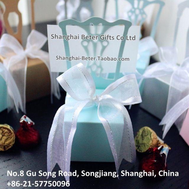 Tiffany Blue Wedding Favor Box  BETER-TH005    #weddingfavorbox #candybox #weddinginspirations