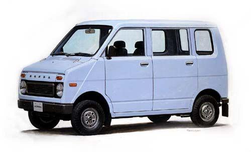 Honda Life_Stepvan
