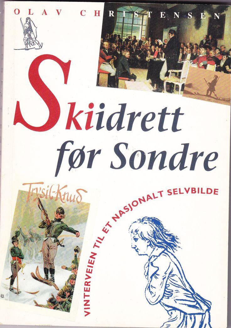 """""""Skiidrett før Sondre - vinterveien til et nasjonalt selvbilde"""" av Olav Christensen - 'A book about or involving a sport'  -  Finished February 14th"""