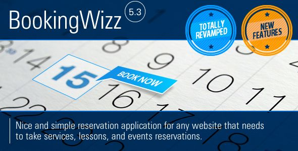 BookingWizz Booking System Script | CodeSpira