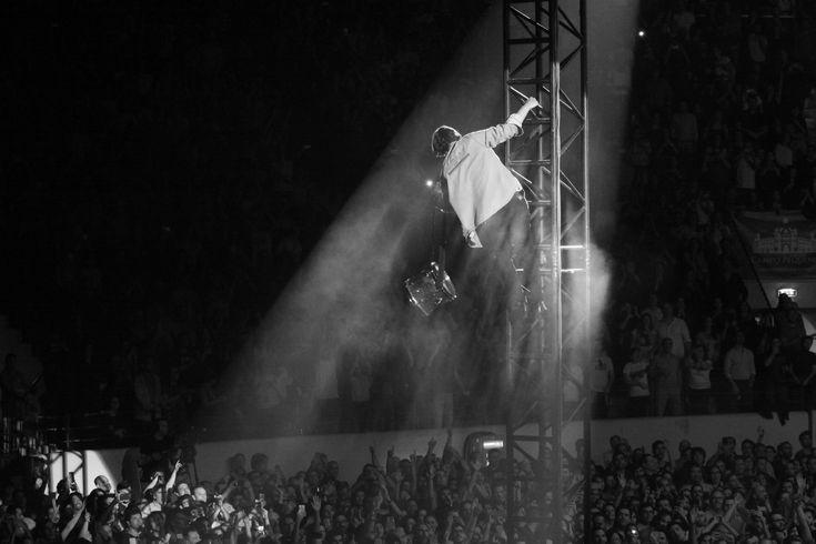 Arcade Fire live at Campo Pequeno, Lisboa, Portugal, April 2018.