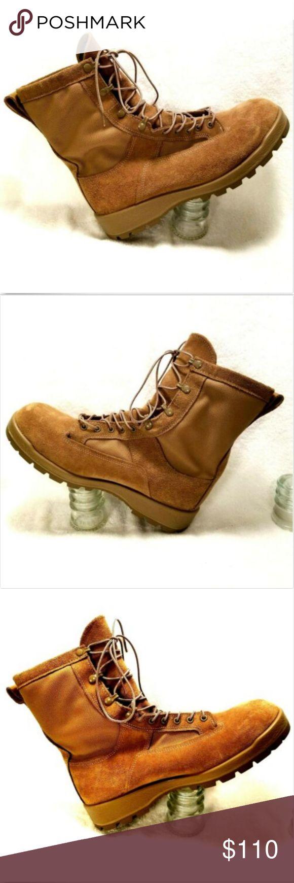 Bates Military Flight Combat Crewmen Boots 11w Bates Men S Military Flight Combat Crewmen Boots Coyote Brown Sz 11 W 291 Fashion Boots Military Boots Boots