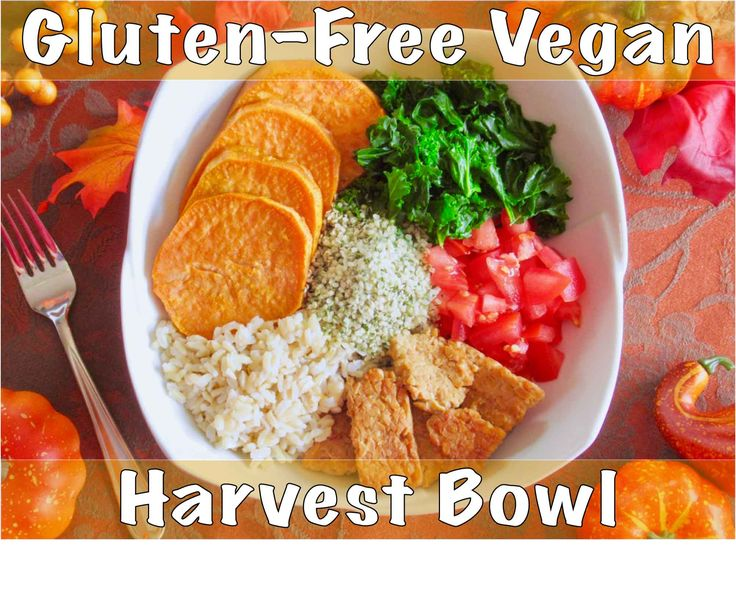 This low-FODMAP bowl packs 32g of plant-based protein and features brightly-coloured vegetables, tempeh strips, brown rice, and hemp seeds.