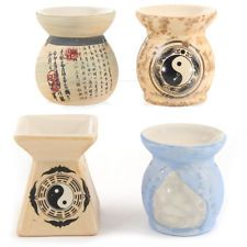 Ceramic Chinese Oil Burner Occasion Gift Idea FREE DELIVERY