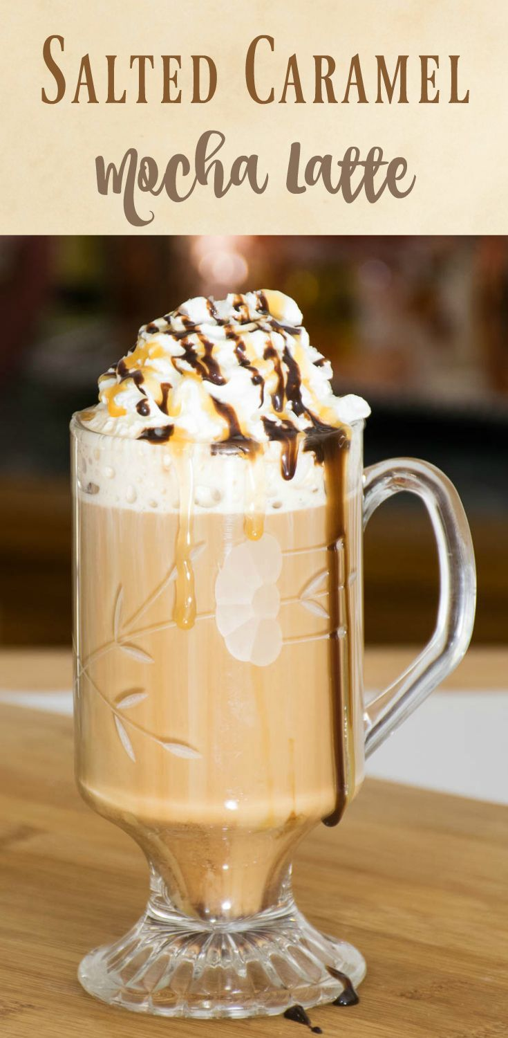 Salted Caramel Mocha Latte make your own specialty