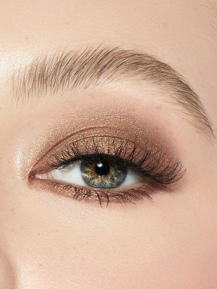 Korean Eye Makeup Kpop Zolotye Teni Dlya Vek Teni Dlya Vek Obrazy Priyomy Makiyazha
