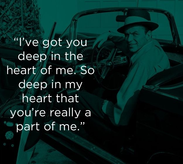 """I've Got You Under My Skin"" 