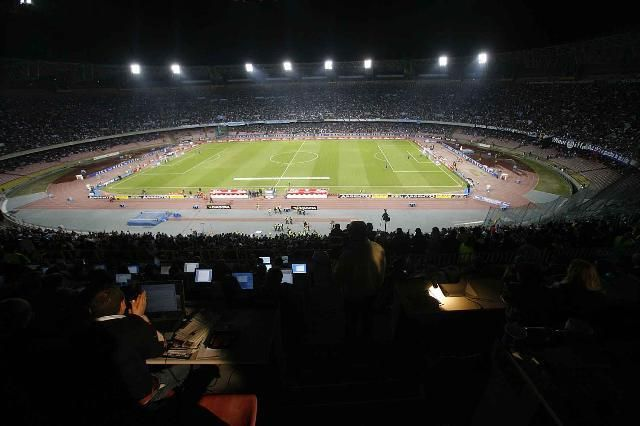 Stadio San Paolo dopo l'ultimo restyling