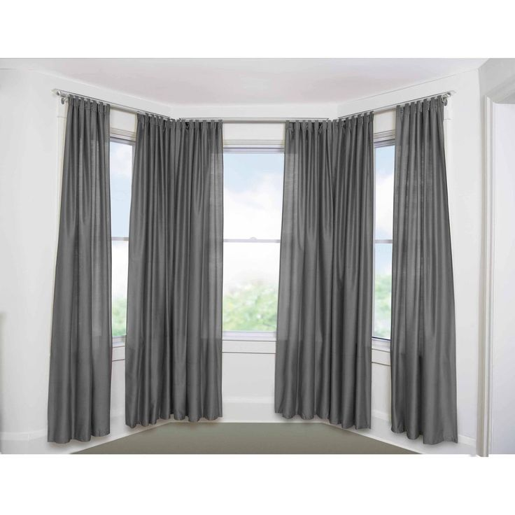 best 25 bow window curtains ideas on pinterest bay. Black Bedroom Furniture Sets. Home Design Ideas