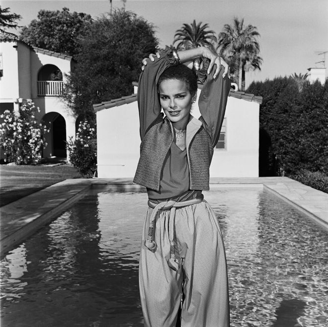Shari Belafonte's Casual Summer Separates... I always loved her style