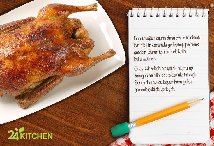 Çok daha iyi kızarmış bir tavuk için ne yapmalı?